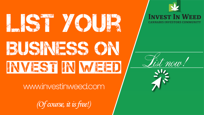 Invest In Weed - Get Listed, List your business